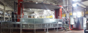 Vacuum Dryer in german tannery for leather
