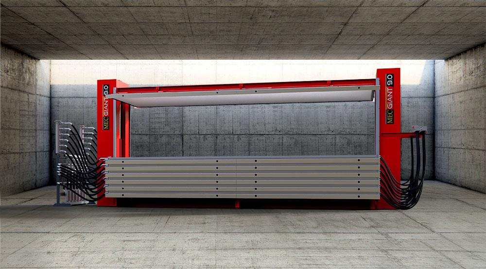 El secador de vacío MG 9034 más grande del mundo