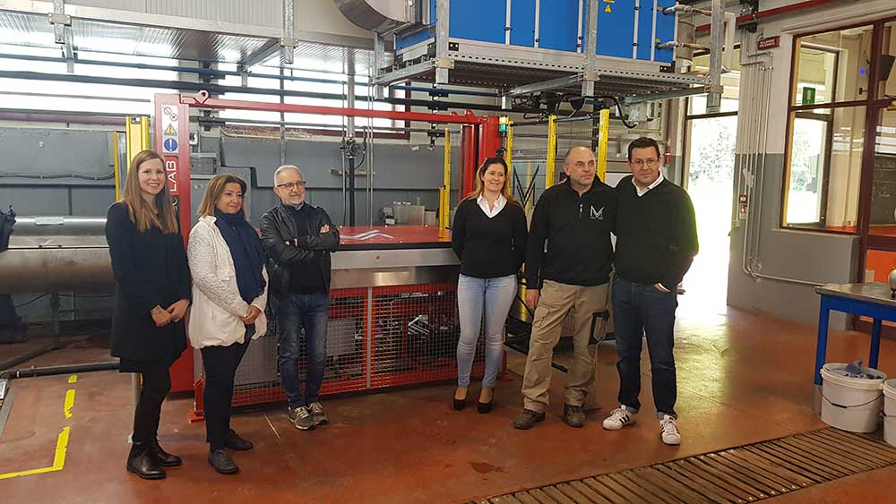 Vacuum Dryer for laboratory donated to the Galilei Institute of Arzignano