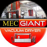 Mec Giant Vacuum Dryer for leather