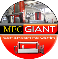 Secadero de vacío para cuero Mec Giant