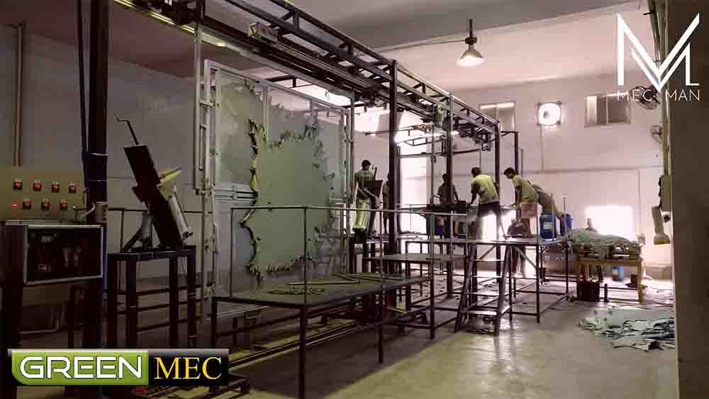 """GreenMec""  Essiccatoio a Telaio di Mec Man"
