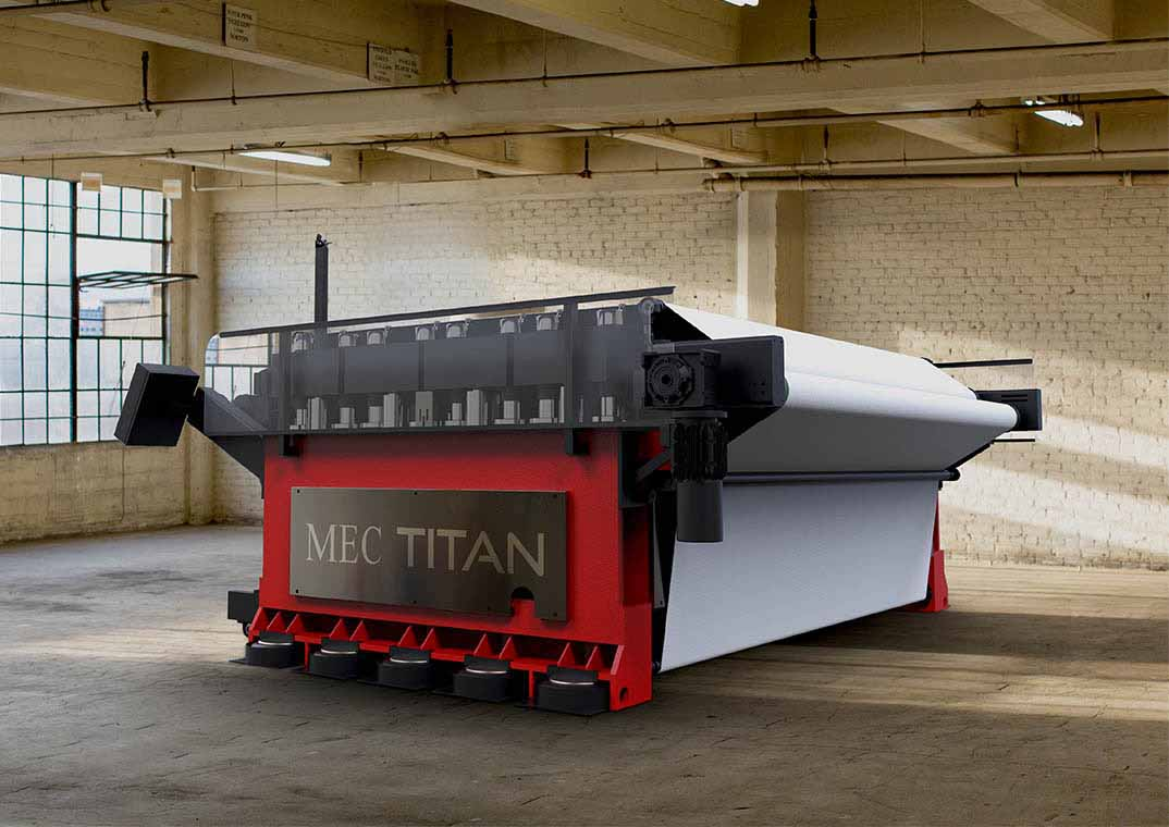 MecTitan Staking Machine Render side Inverter