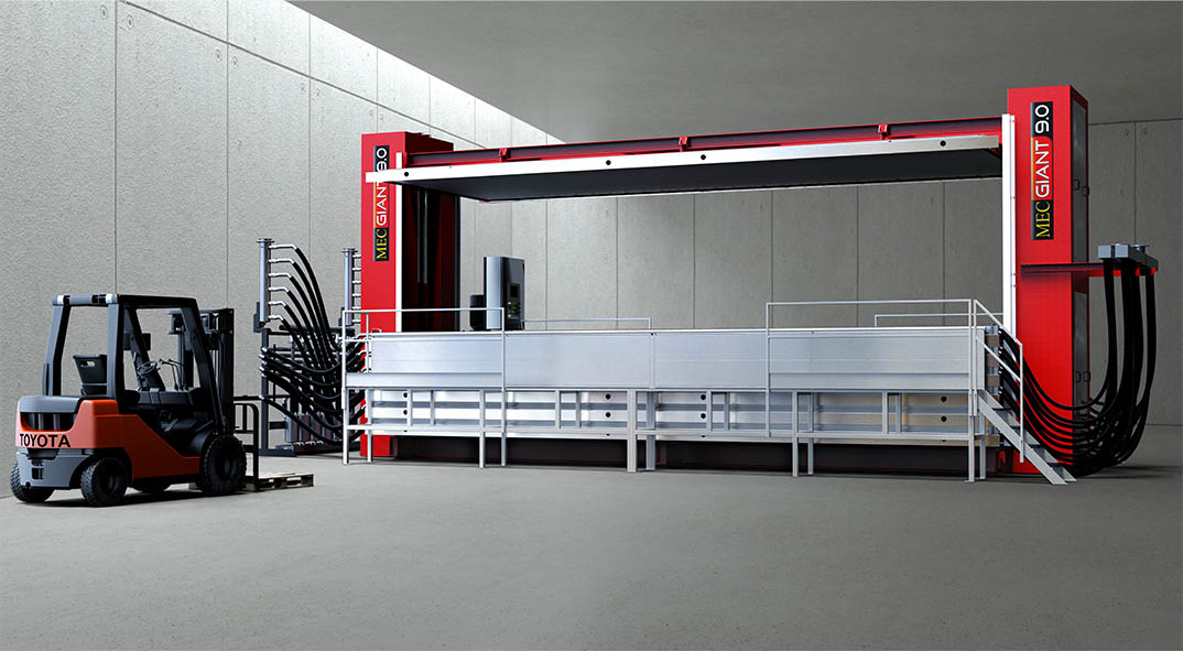 Vacuum Dryer MecGiant 9034 high light factory