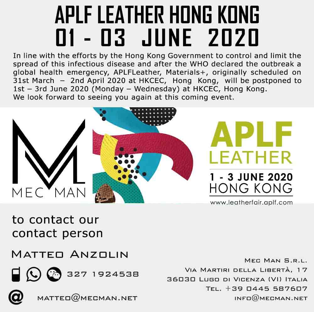 APLF Hong Kong 2020